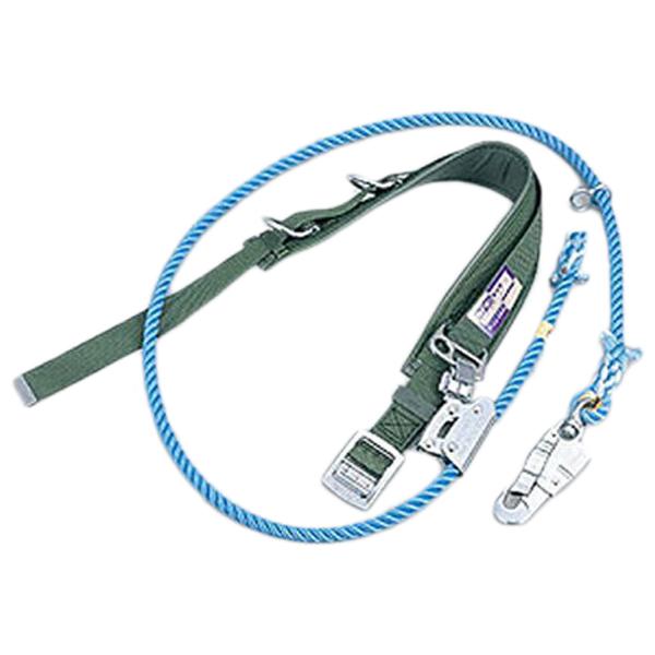 (送料無料) サンコー/タイタン 柱上用 安全帯 4E (U字つり・一本つり兼用使用限界を知らせる赤芯入りロープ)
