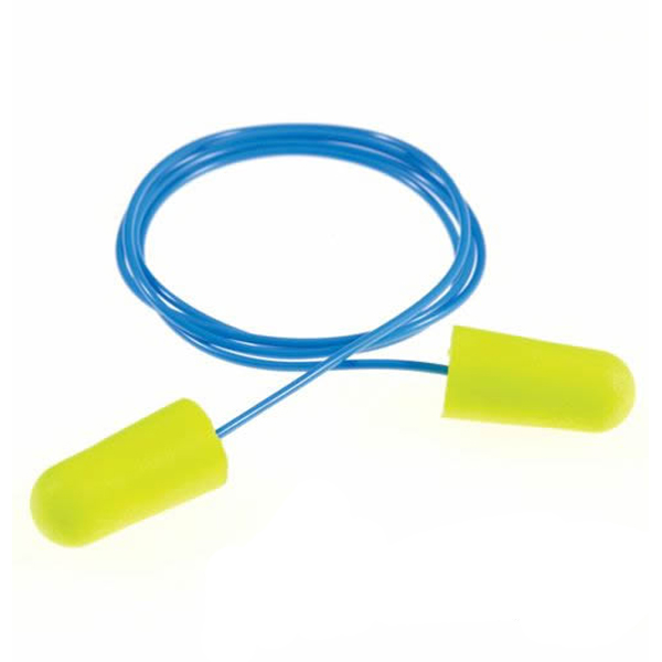 (送料無料)耳栓 耳せん 3M イアーソフト イエローネオン N2コード付 (1箱/200組) (遮音値/NRR:33dB) (睡眠/遮音/防音/飛行機対策)みみせん みみ栓