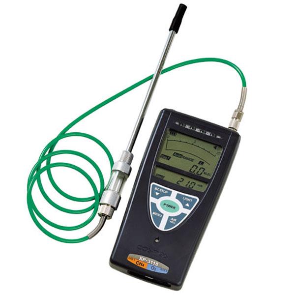 (送料無料)(送料無料) 新コスモス電機 複合型ガス 検知器 XP-3118 (複合型ガス検知器) (可燃性ガスと酸素の濃度を同時検知・同時表示/安全管理)
