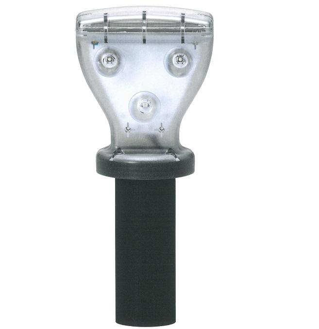 新しい発光パターンで視認性が向上 一部予約 海外輸入 工事点滅灯 取付金具付 ソーラーキング90