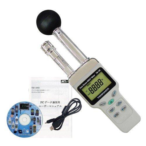 データロガ式デジタル熱中症指数モニター HO-233