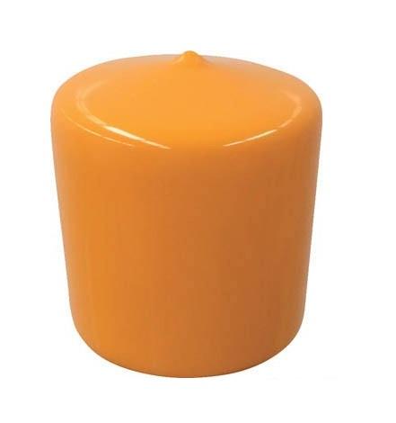 単管キャップ オレンジキャップ48.6φ用 軟質タイプ 200個セット アラオ