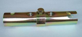 単管ジョイント金具 ロックジョイント 単管用 φ48.6 HTJ-RC 30個セット