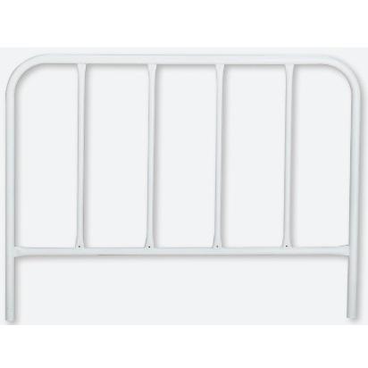 フェンス 鉄製 白色 H900×W1200mm 870-41(大型商品)