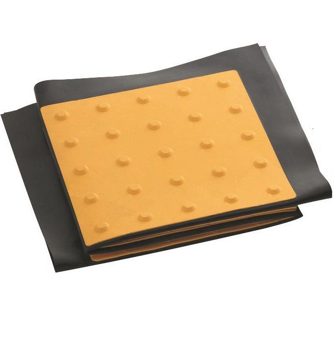 点字マット(折りたたみ式)  300角ポイントタイプ 710W×1020L(3枚2洌) ゴムマット