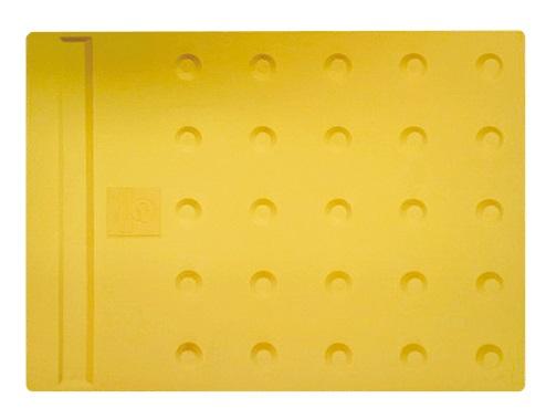エコ点字パネル(再生エラストマー樹脂使用) ホームタイプ 400×300 20枚セット