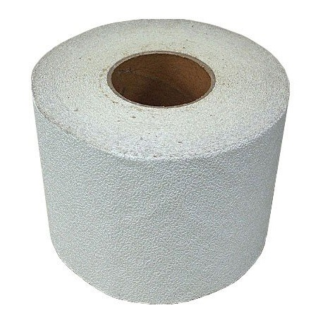 仮ライン反射テープ(粘着性) 150mm 白色 駐車場舗装・道路舗装時に最適 150mm幅×45m カットライン