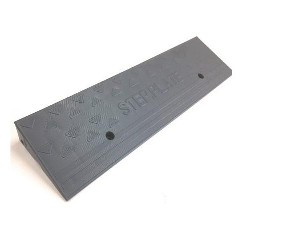 段差スロープ ステッププレート 50mm段差用/長さ600mm SP-5G 10枚セット 駐車場用品  段差ステップ