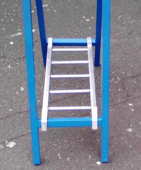 スリム看板用はしご型看板サポート金具  看板用ウエイト 10個セット