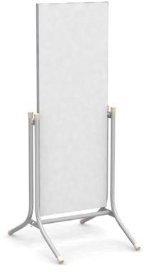 【送料無料】マーカー書き消し・マグネット使用可能 スタンドサイン 両面型 コロバン4512Mg H1201×W447mm
