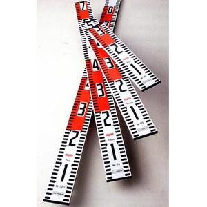 50cmアルミ製標尺ロッド(ニューアルロッド)60mm幅  10本セット現場工事写真記録用