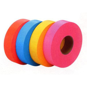 標識テープ  カラフルな耐久性、強度に優れた標識テープ 10巻セット HT-30