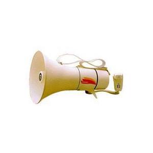 メガホン ショルダー型 ホイッスル音付 トランジスターメガホン  13W TM-208