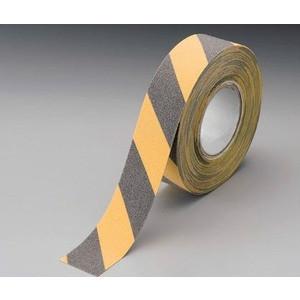 アンチスリップテープ  黄黒ゼブラ  裏粘着 50mm×18m 863-394A