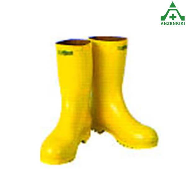 重松製作所 化学防護長靴 RS-2 アスベスト (石綿) 対策用 (個人宅発送不可/代引き決済不可) 作業防具 アスベスト除去 ガード長靴 シゲマツ