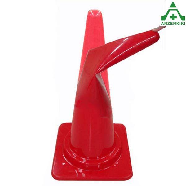 フレックスコーン (高さ 70cm) 20本セット 全4色 (メーカー直送/代引き決済不可) カラーコーン パイロン セフティコーン セーフティコーン セフティコーン やわらかコーン 割れないコーン 赤 黄 青 緑 レッド イエロー グリーン ブルー