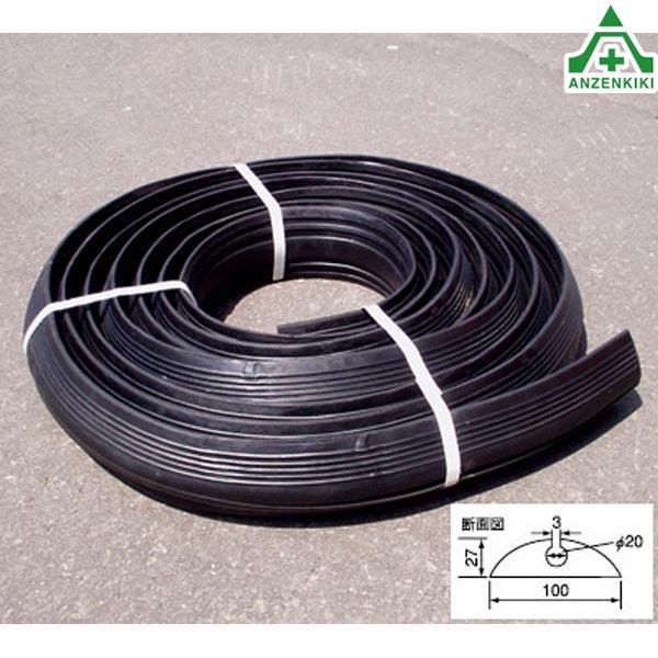 コードプロテクター 配線保護 路上 道路 工場 10m ゴム製 ねじれ防止 (一般コード用)ケーブル保護
