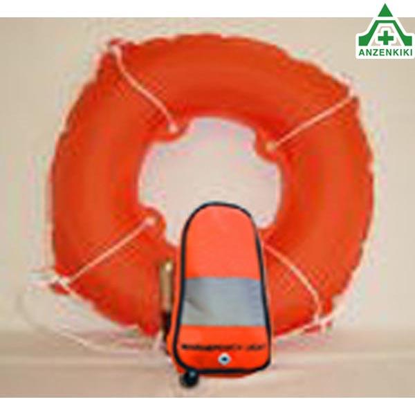 救命胴衣 自動膨張式救命具 【マリンポーチライト タテ型】  ■メーカー直送につき代引き不可■
