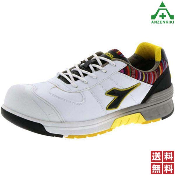 ドンケル 安全靴 ディアドラ ブルージェイ BJ-121 (24.5~29.0cm EEE) ホワイト (メーカー直送/代引き決済不可) JSAA A種 樹脂先芯 耐油 EVA ラバー底 作業靴 ワークシューズ 男女兼用