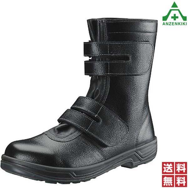 シモン 安全靴 シモンスター SS38 (30.0cm) 黒 (メーカー直送/代引き不可) 半長靴 安全ブーツ セーフティブーツ 作業靴 ワークシューズ セーフティシューズ JIS T8101 S種 樹脂先芯 衝撃吸収