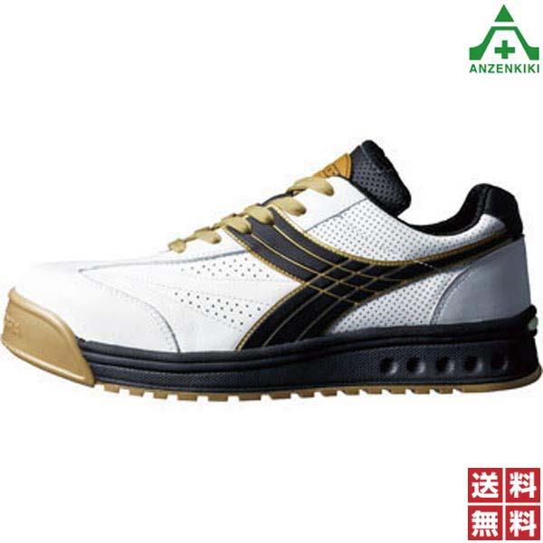 JSAA ディアドラ (メーカー直送/代引き決済不可) ホワイト (23.0~29.0cm ドンケル A種 ピーコック EEE) 安全靴 男女兼用 PC-12 作業靴 ワークシューズ 樹脂先芯