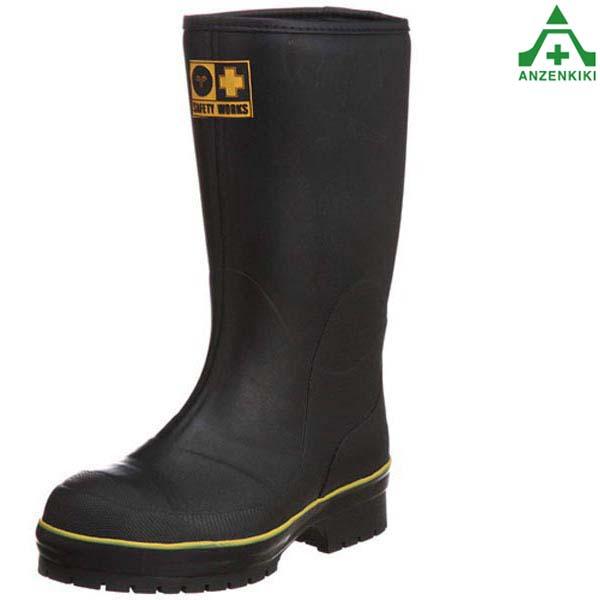 弘進ゴム 冷凍庫用 安全長靴 ライトセーフティーワークス LSW-01 (30.0cm) 鋼製先芯 防寒 ブーツ 作業靴 安全靴 安全ブーツ スタッドレスソール メンズ