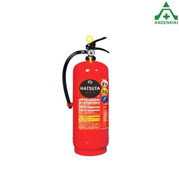 初田製作所 ALS-8 バーストレス 消火器 蓄圧式 (スチール) リサイクルシール付 (メーカー直送/代引き決済不可) HATSUTA 強化液