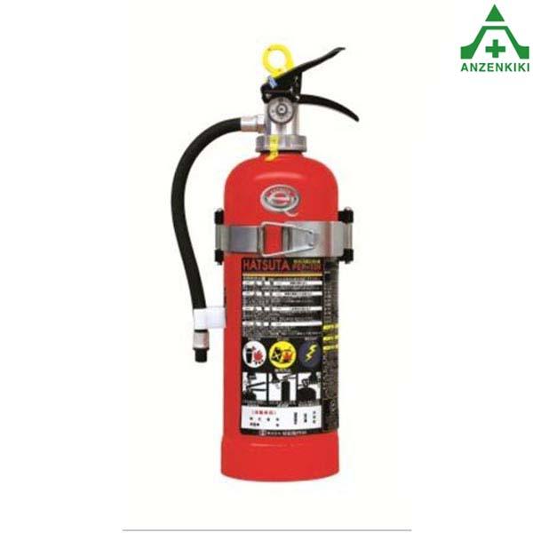 初田製作所 PEP-10V バーストレス 消火器 蓄圧式 (スチール) リサイクルシール付 (メーカー直送/代引き決済不可) HATSUTA 自動車用 エコマーク認定品