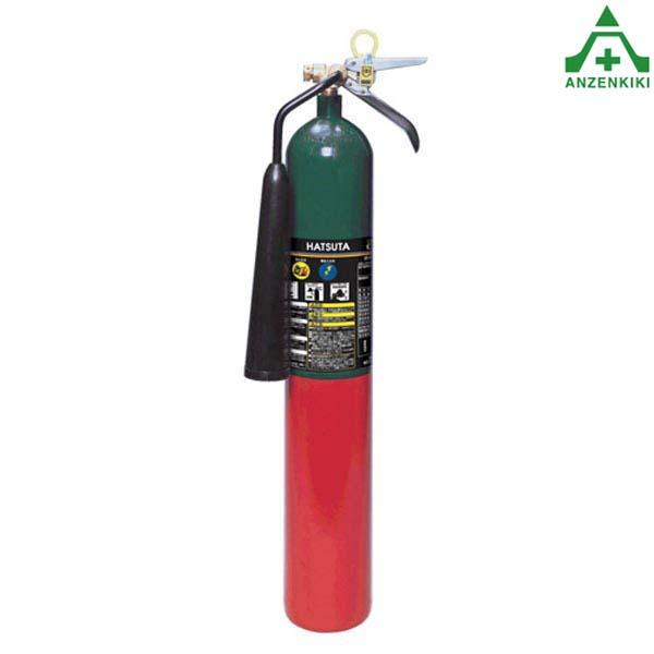 初田製作所 CG-5 CO2ガス消火器 (スチール) リサイクルシール付 (メーカー直送/代引き決済不可) HATSUTA 二酸化炭素消火器