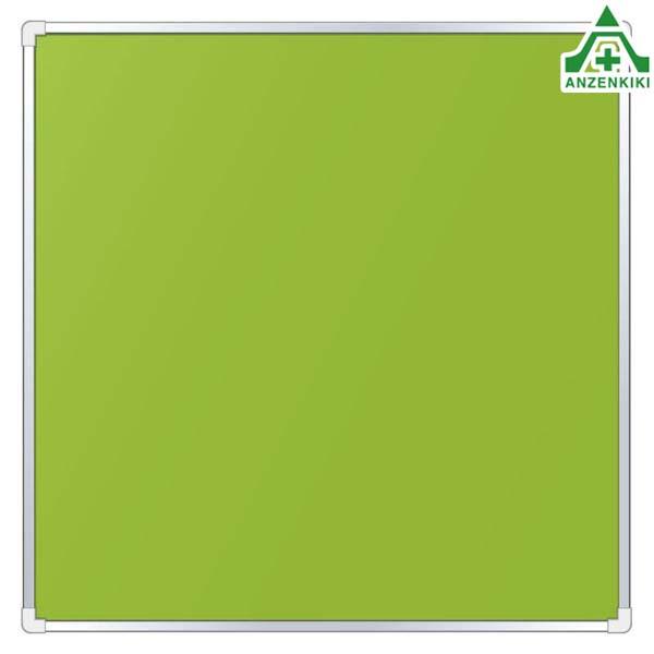 303-16 法令許可表 表示板 ベース板のみ グリーン (950×950mm) (メーカー直送/代引き決済不可) 注意看板 お願い看板 標識 工事現場 許可表 工事開始用品 法定表示板用ベース
