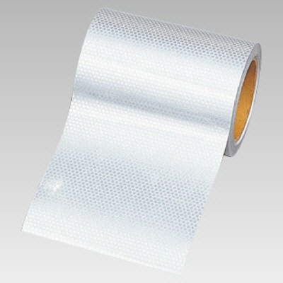 ユニット 374-79 高輝度テープ(白)150mm幅×10m