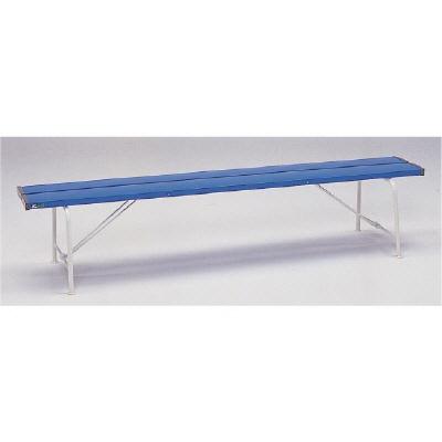 ユニット 376-80 ベンチ(背なし1800)青色