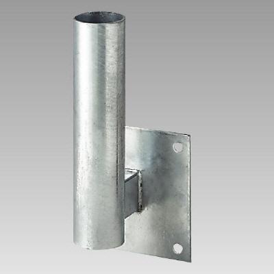 ユニット 384-92 カーブミラー取付用金具 L型壁取付金具