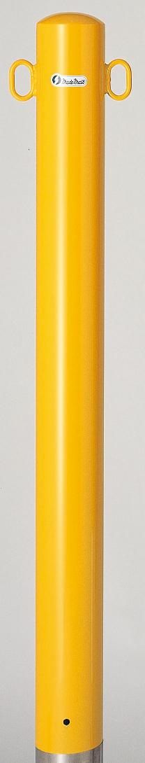 ユニット 835-313 駐車用区画支柱 101.6 鉄製