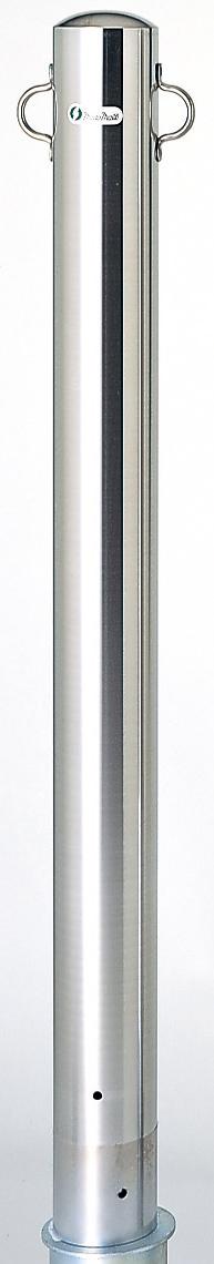 ユニット 835-317 駐車用区画支柱 101.6 ステンレス製