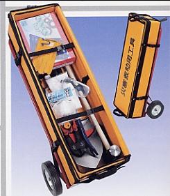 救助工具袋セットA(台車付)【防災用品/避難用品】