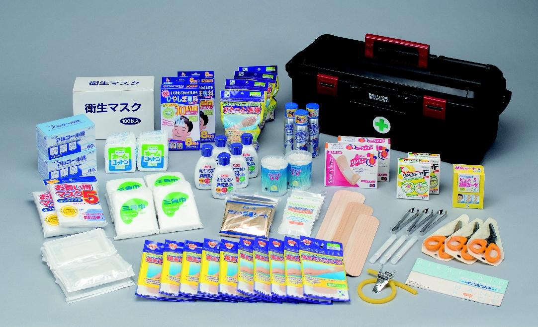 クイックレスキュー救急セット(約50人用) 300202