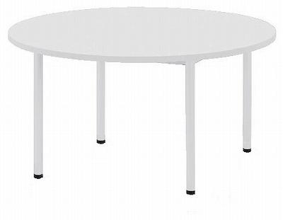 会議テーブル アジャスタータイプ 丸形 1200φ×H720 【地域限定送料無料】/NS-AWB-1200R