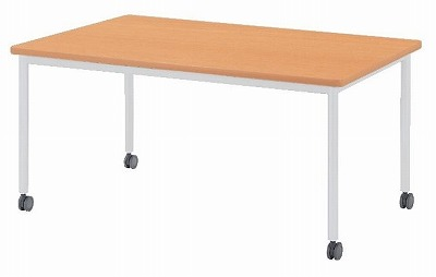 会議テーブル キャスタータイプ 角形 W1200×D1200×H720 【地域限定送料無料】/NS-AWB-1212KC