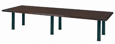 大人の上質  大型ミーティングテーブル(6本脚) W3600×D1200【地域限定送料無料 W3600×D1200】/NS-TH-W04-3612, ミズサワシ:76216e50 --- canoncity.azurewebsites.net