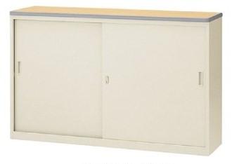 ハイカウンター ニューグレータイプ 引戸型 鍵付 W1500mm 【地域限定送料無料】/SE-NSH-15S□G