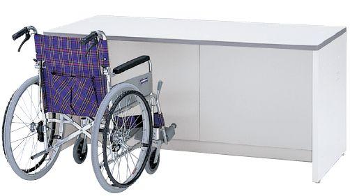 車椅子対応ローカウンター ホワイトタイプ W1600mm 【地域限定送料無料】/SE-NSL-16F□W