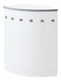ハイカウンター ホワイトタイプ 90°外コーナー 604R×H950mm 【地域限定送料無料】/SE-NSH-45R□W