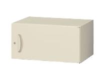 上置書庫 片開き W600×D400×H300mm 【地域限定送料無料】/SE-RG4-03H60