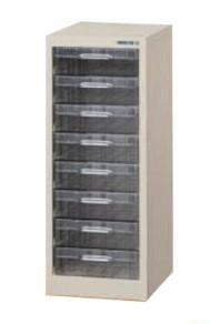 パステルケース A4深型 8段×1列 高さ700mm /TO-CFA4-108L