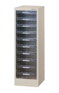 パステルケース A4深型 10段×1列 高さ880mm /TO-CFA4-110L