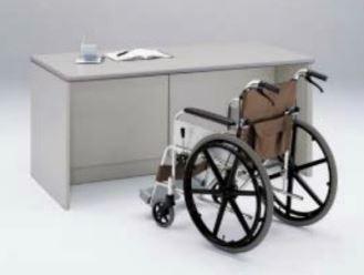 車椅子対応ローカウンター 幅1600mm TSN /TO-TSN-1680C-□□