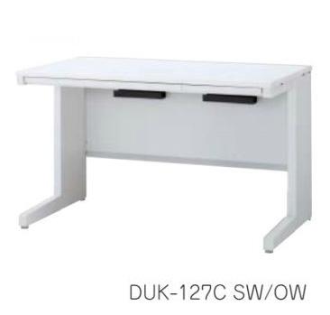 デュエナ 平机 デスク Kタイプ L 型脚 引出し付き W1400×D700×H720mm /TO-DUK-147C □/□