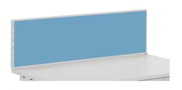 デュエナ デスクトップパネル Sタイプ 両袖 片袖 平机 デスク用 取付金具付 W400mm /TO-DUS-DTP304F EM/□