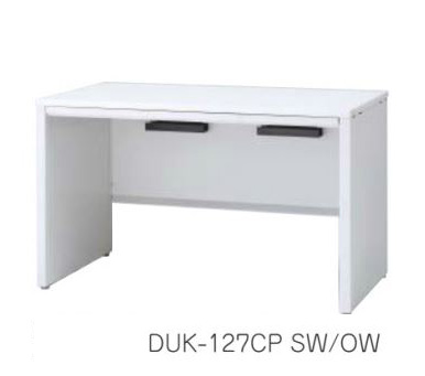 デュエナ 平机 デスク パネル脚 引出し付き Kタイプ W1800×D600×H720mm /TO-DUK-186CP □/□